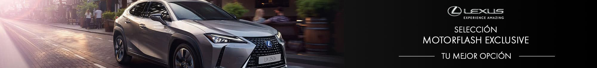 Motorflash exclusive de la marca Lexus